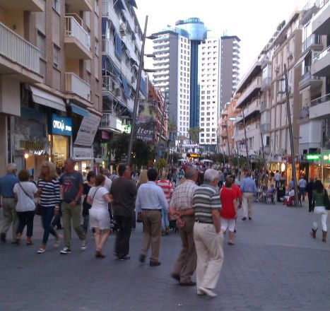 Benidorm Old Town has a great choice of hotels & a nice stroll to the New Town