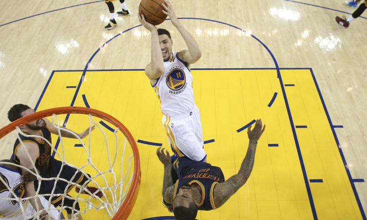 """Scaletta: Warriors actually are better than 'Showtime' = Klay Thompson of the Golden State Warriors has made a lot of deep shots in the last two seasons, but last night he took one from way downtown, directing one at his father's team, the historically great """"Showtime""""....."""