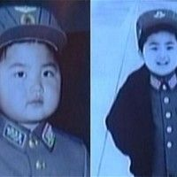 La tierna infancia del implacable líder norcoreano