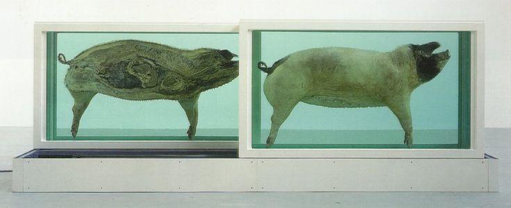 Damien Hirst. This Little Piggy Went to Market, This Little Piggy Went Home; 1996. simulation art