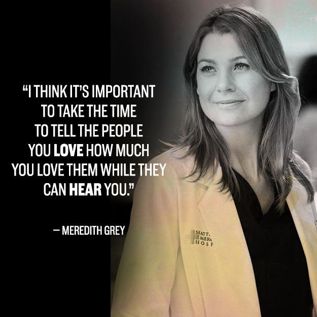 22 Incredible Grey's Anatomy Quotes That Still Break Your Heart