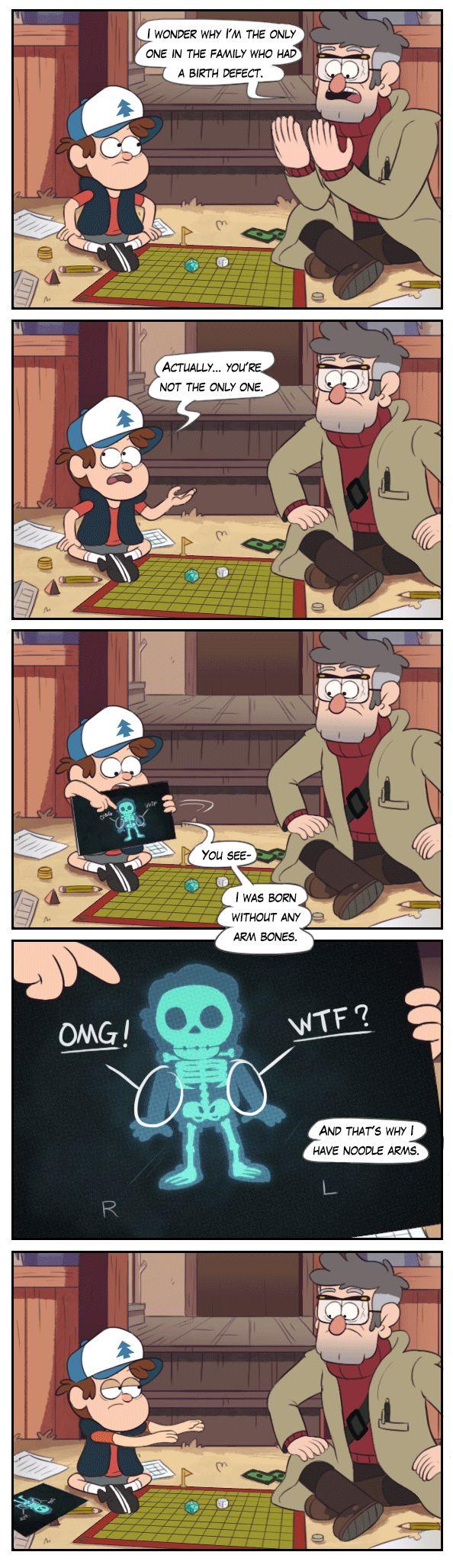 GF Комиксы,Gravity Falls,фэндомы,Dipper Pines,GF Персонажи,Stanford Pines