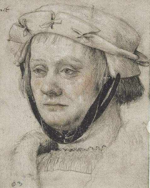 Photobucket. Ганс Гольбейн старший, портрет мужчины (Йорг Бомхекель?), гравюрный кабинет, Берлин