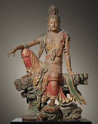 Guanyin of the Southern Sea, Liao (907-1125) or Jin Dynasty (1115-1234), The…