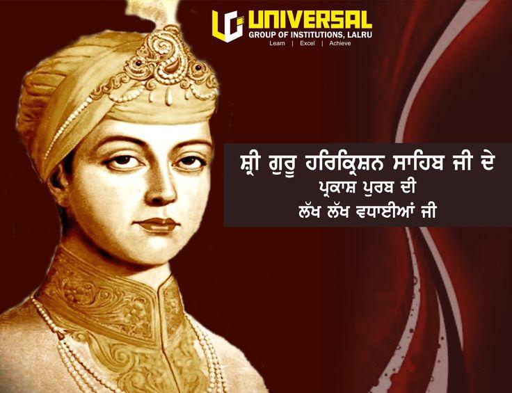 Universal Group of Institutions wishes everyone Happy Gurpurab on ocassion of Parkash purab of Sri Guru Harkrishan Sahib Ji (8th Sikhs Guru).