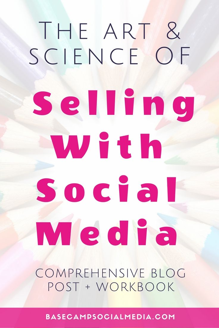 Learn how sell with social media + download workbook!