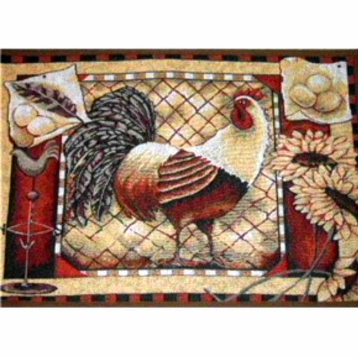 Pin By Theme Home Decor On Country Rooster Kitchen Decor
