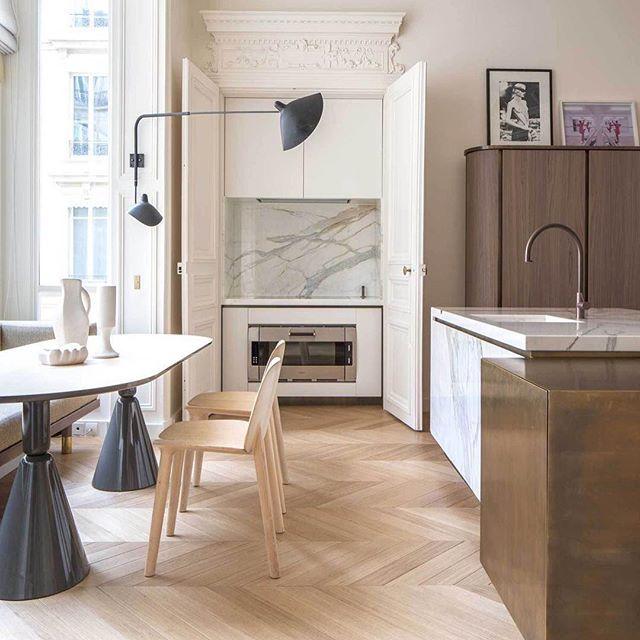 Kitchen Flooring Apartment Therapy: Paris Apartment Rodolphe Parente