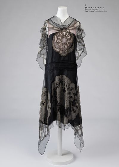 Jeanne Lanvin dress c 1924