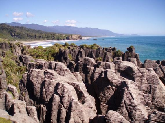 Pancake Rocks, New Zealand - south island