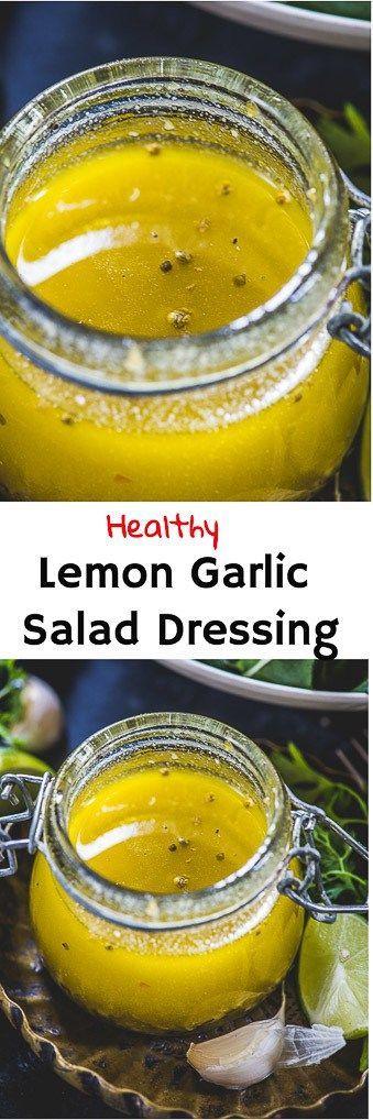 Peppen Sie Ihr Salatspiel in diesem Sommer mit diesem lippigen Zitronen-Knoblauch-Salat auf …   – food