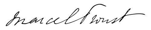 Marcel Proust signature - Marcel Proust – Wikipedie