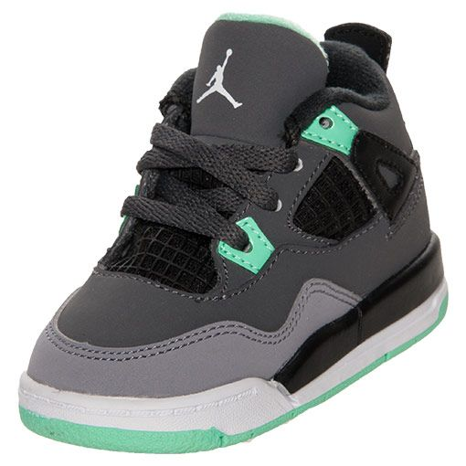 Boys' Toddler Jordan Retro 4 Basketball Shoes