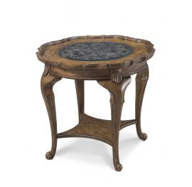 American Memories Round Accent Table CLOSEOUT ART Furniture Fun