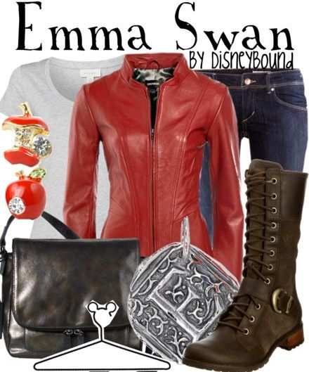 I never thought they would have something like a Once Upon A Time Emma outfit! Emma is so cool! (The second season has been over for like half a year, they still don't have it on netflix)