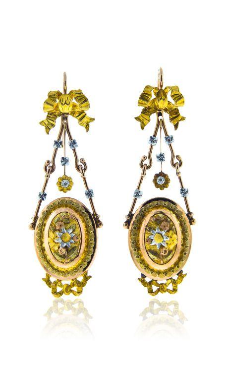 #antiquegold #earrings