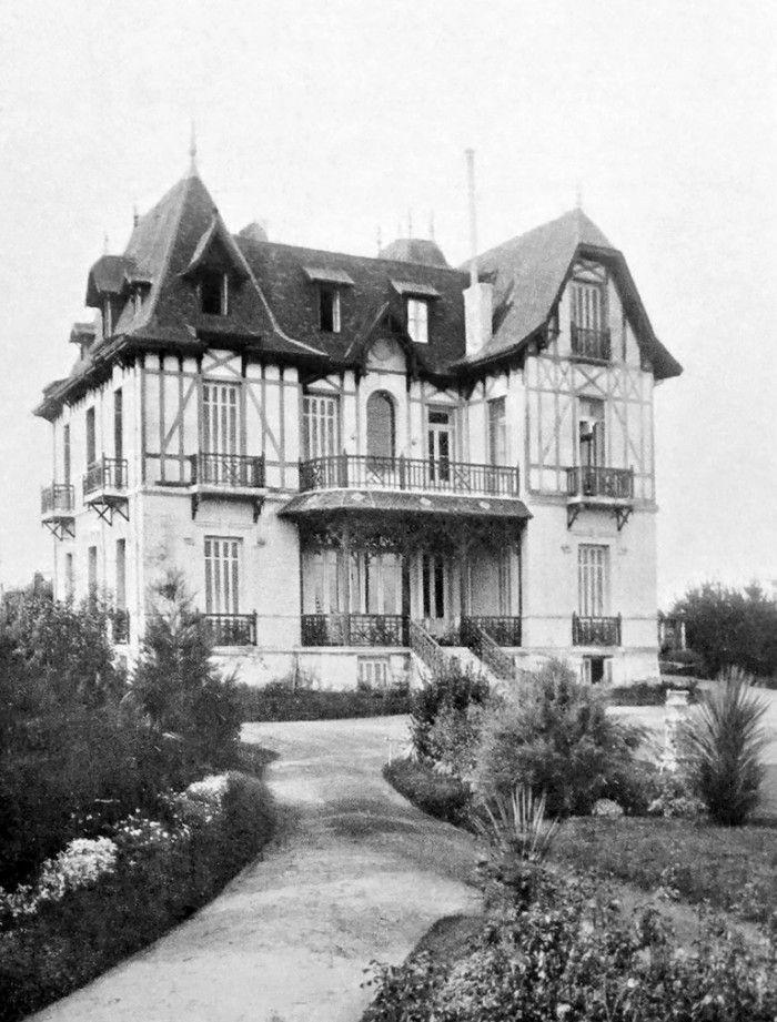 ¨Bell Retiro¨ Villa veraniega de la familia Luro 1910 Mar del Plata prov. de Bs. As. demolida en 1937