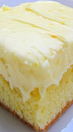 Orange Cake with Orange Cream Cheese Frosting ~ From Scratch
