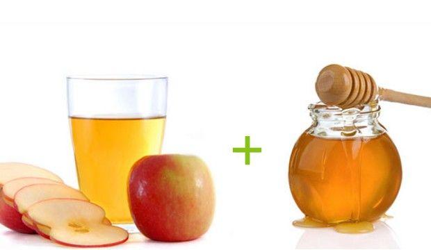 Skvělá kombinace pro zdraví: Nápoj s medem a jablečným octem