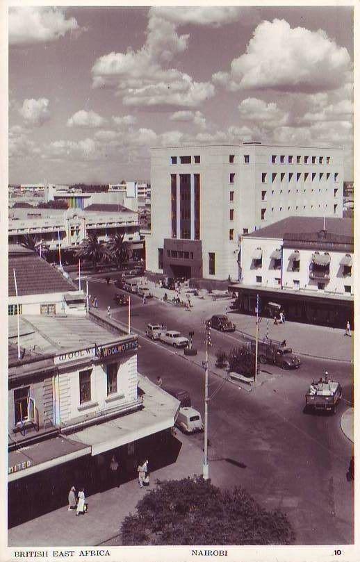 Nairobi View 1958