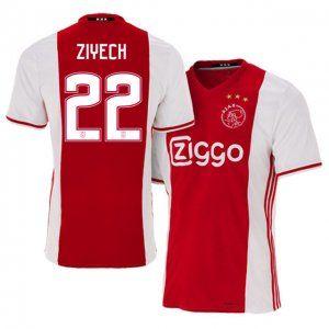 16-17 Ajax Cheap Home #22 Ziyech Replica Football Shirt [I00255]