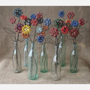 Industrial Flower Bouquet, $50, now featured on Fab.