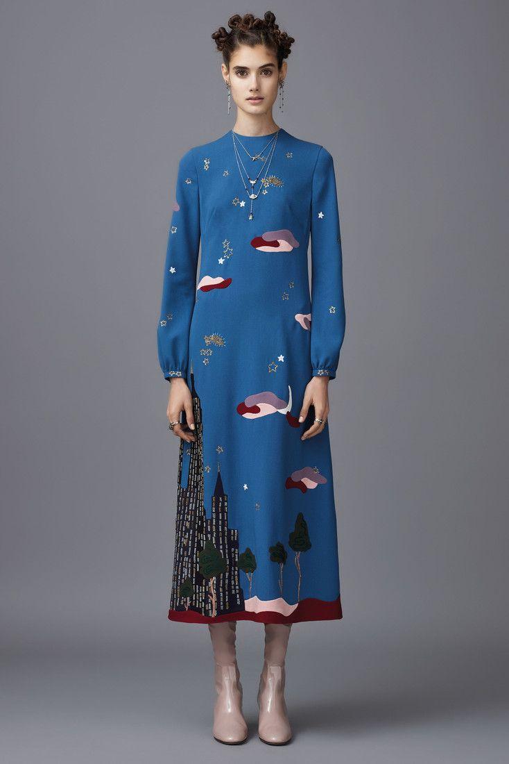 Valentino Pre-Fall 2016женская одежда