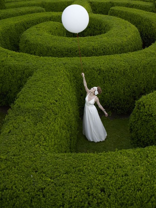 Reaching for support- can you see me in life's labyrinth?