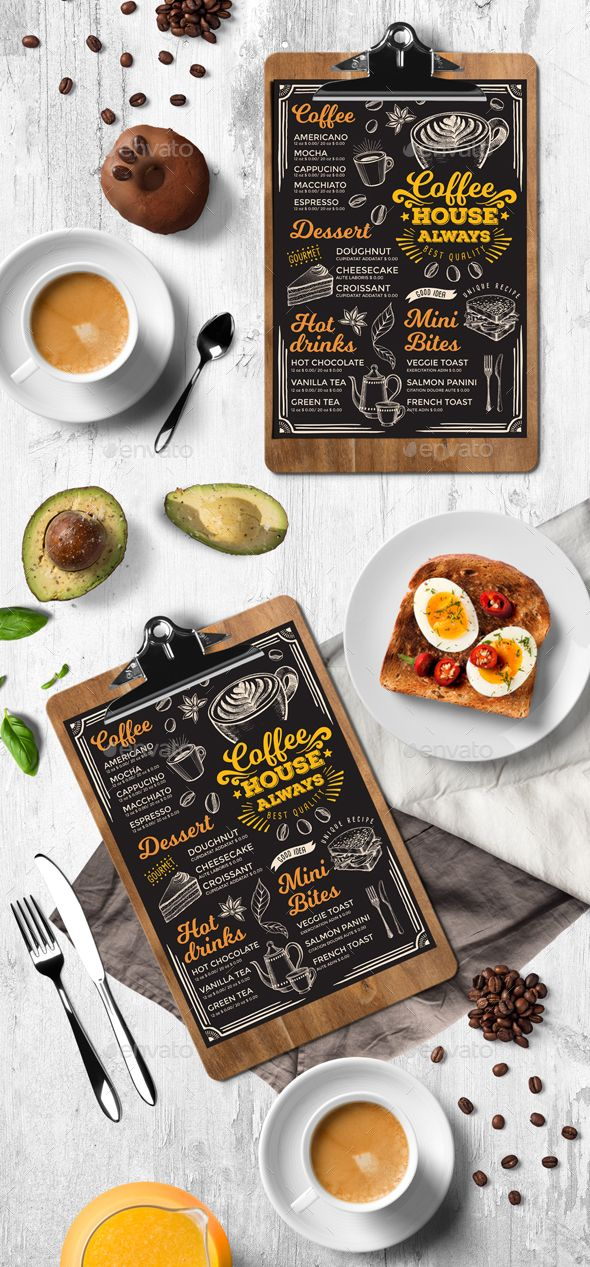 25+ beste ideeën over Template menu op Pinterest - Flyer - breakfast menu template