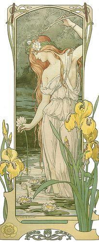 "Elisabeth Sonrel (1874-1953), ""Fleurs des Eaux"" | Flickr - Photo Sharing!"