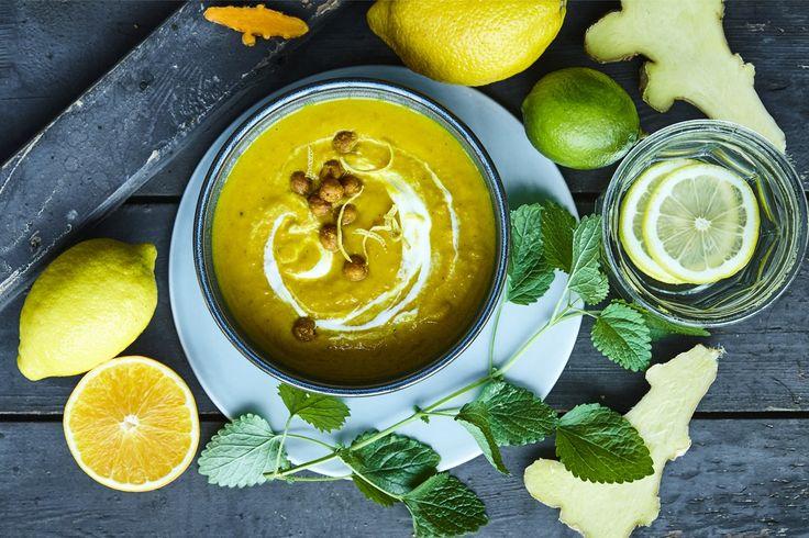 Suppen, der sætter kulør på hverdagen og fylder kroppen med energi. Velbekomme!
