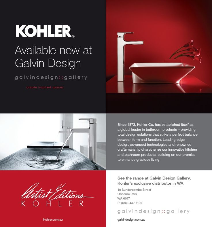 Calling Card - Galvin Design Gallery Showroom Details