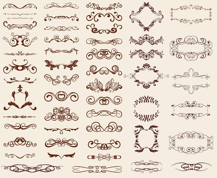 Free Design Patterns | Retro Design Elements | Free Vector Graphics | All Free Web Resources ...