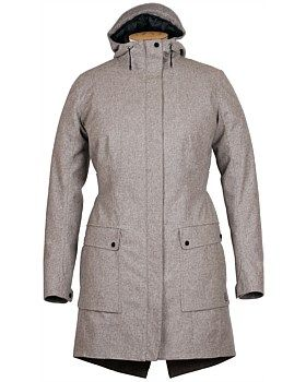 This Alchemy Equipment laminated wool parka jacket  has a sharp appearance with a soft and cosy interior. This thigh-length women's parka is made with Italian wool laminated to a water and wind proof membrane. Following the silhouette of our AEB101 fit block, this flattering cut parka jacket accommodates a layer of PrimaLoft. Hi-Loft Silver insulation, which has been quilted to a super soft Pertex. Microlite ECO lining. Buy Now…