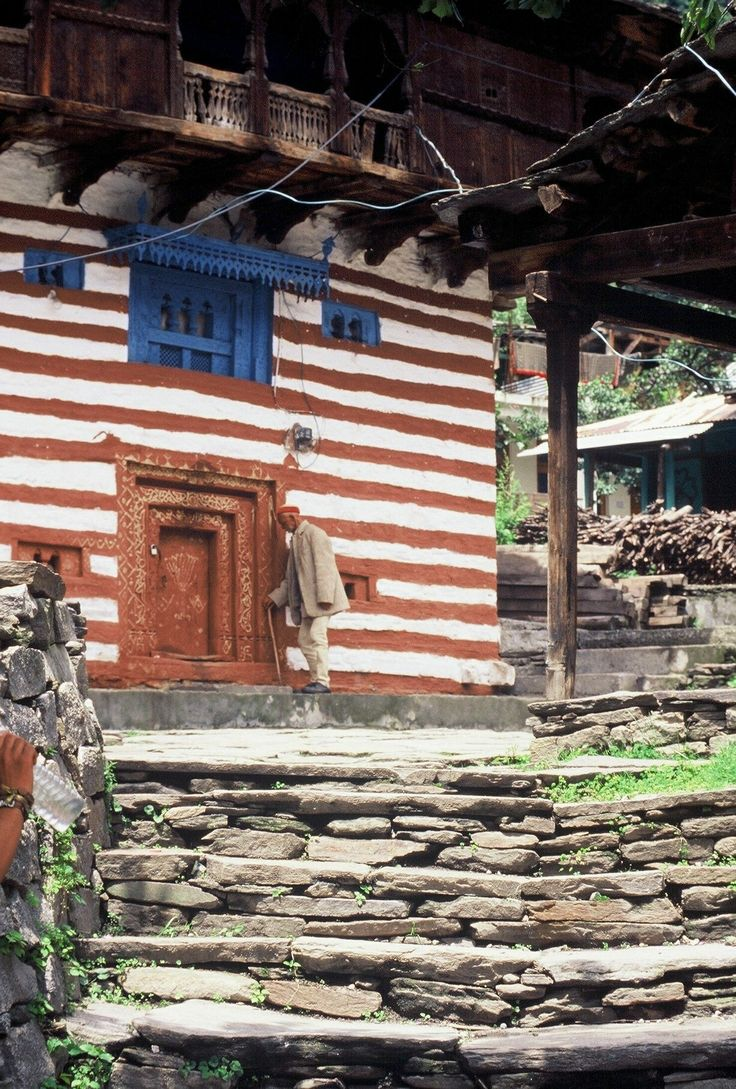 India - Himachal Pradesh                Typical mountain house Photographed by Renato Siani