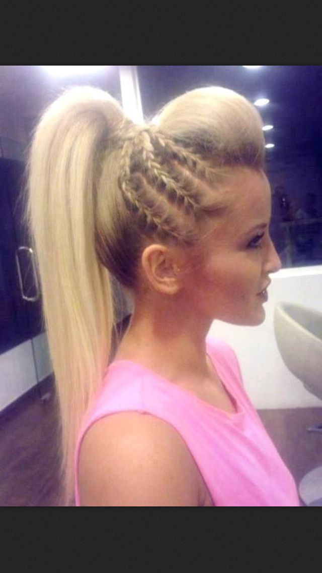 Simple 7 Cute Cheer Hairstyles