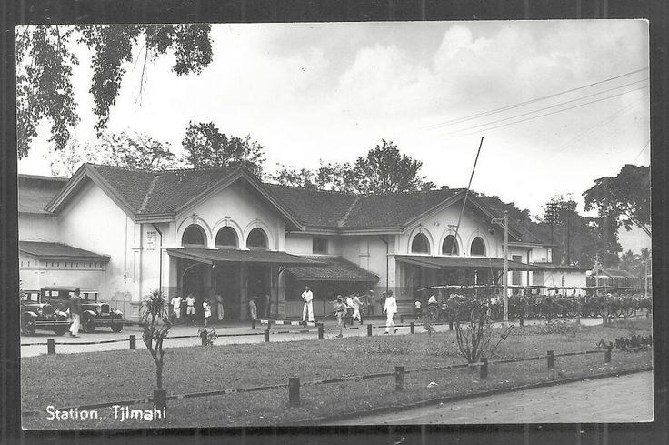 Tjimahi Cimahi rppc Railway Station Java Indonesia 1939 nl.picclick.com