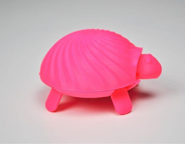 Reposting @all3dp: Don't know what to print? Check this squishy turtle toy assembled from multiple parts!🐢 ⠀ #all3dp #3dprinting #turtle #animal #3dprinter #instapic #cool #ideas #toy #saturday #3dmodels