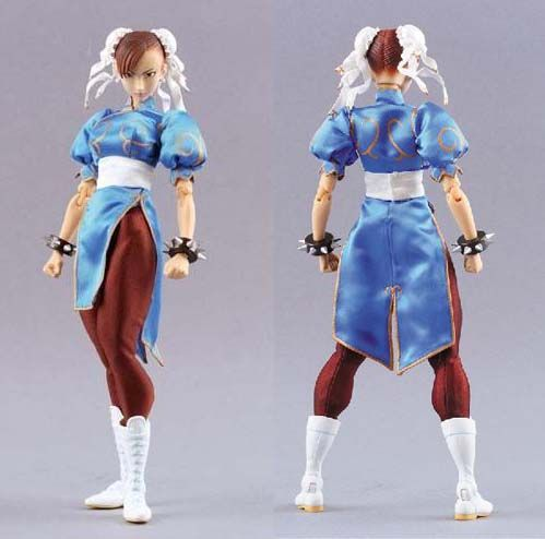 chun li costume idea, from all sides - very helpful for designing