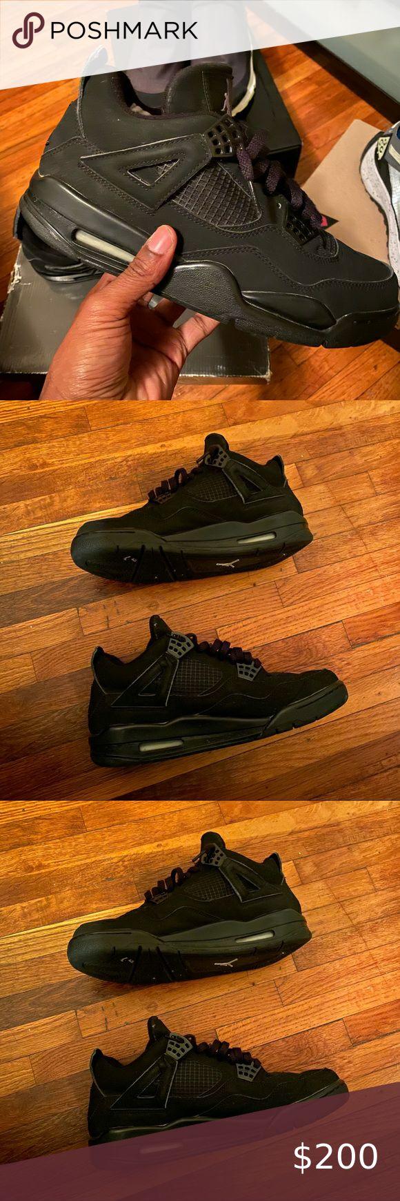 OG Air Jordan 4 Black Cat size 8.5 in 2020 Jordan 4