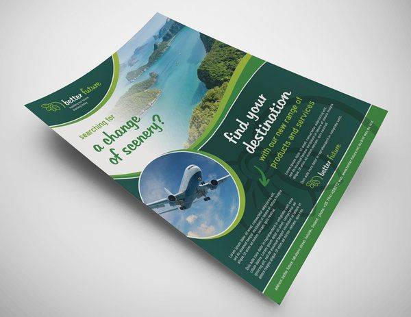 Better Future Flyer - PSD Template by martinemes.deviantart.com on @DeviantArt
