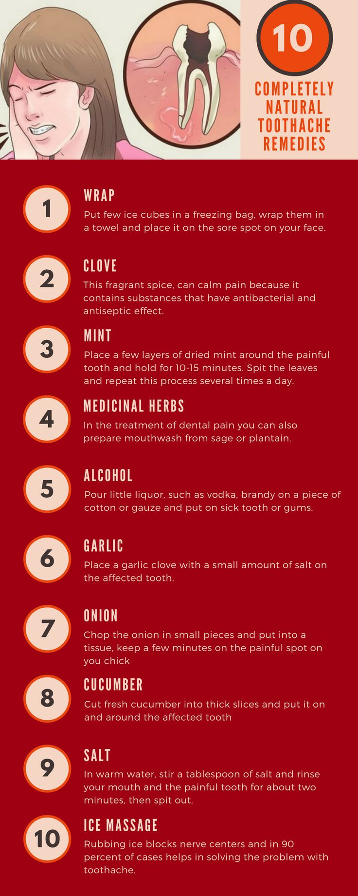 26 best Tooth pain images on Pinterest | Home remedies, Natural ...