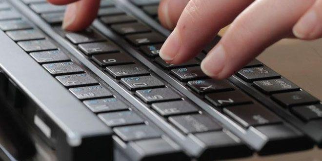 LG lanzó la segunda generación de su teclado enrollable http://j.mp/1SWsSV4 |  #Gadgets, #LG, #Noticias, #Rolly2, #Teclado, #Tecnología, #Wireless