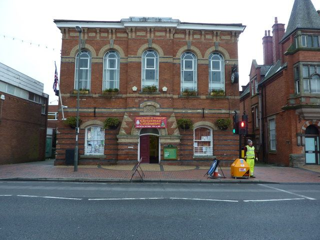 Heanor Town Hall, Market Street, Derbyshire- near where one of my sons, daughter in law and two grandsons live.