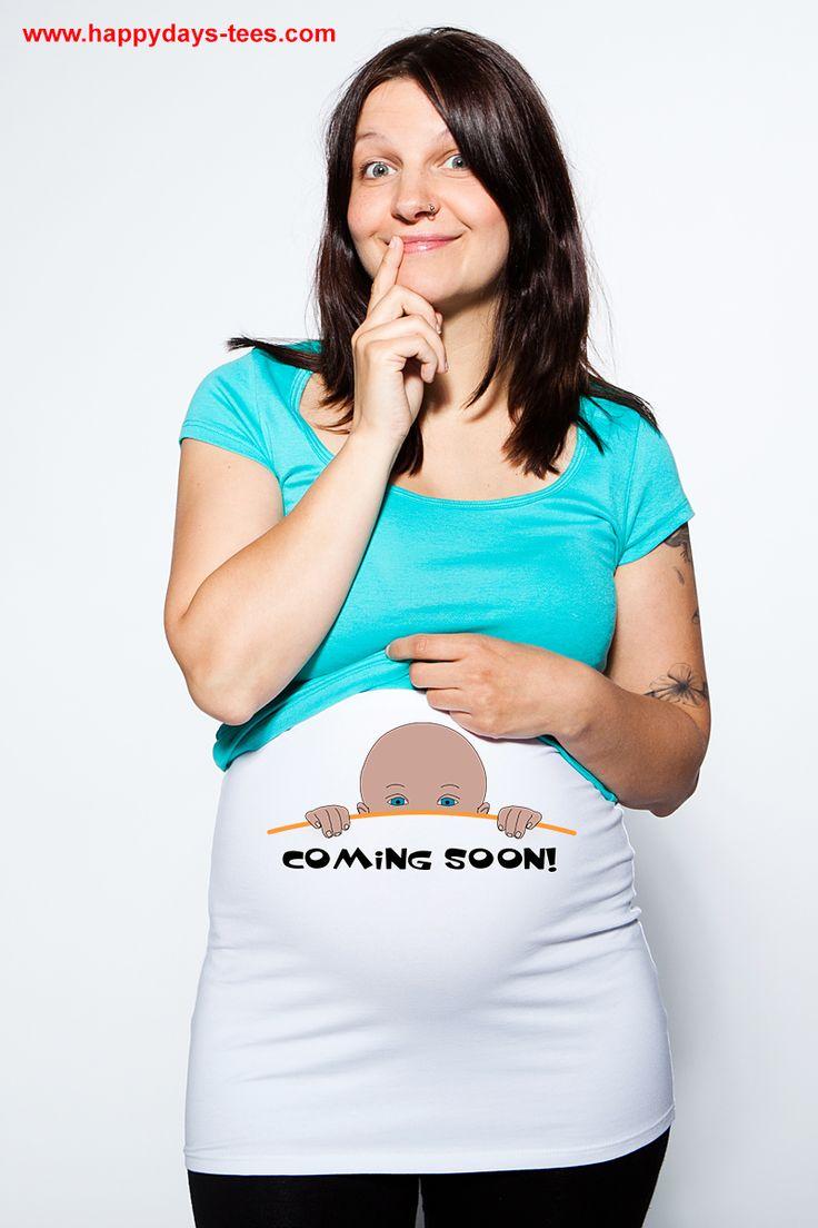 Tee shirts et bandeaux de grossesse originaux !