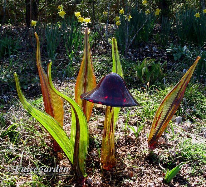 Glass art by Glass Gardens NW-Barbara Sanderson