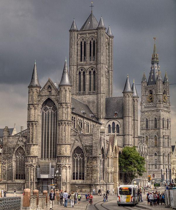 St. Niklaaskerk and Belfort, Gent