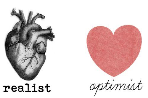 Realist X Optimist