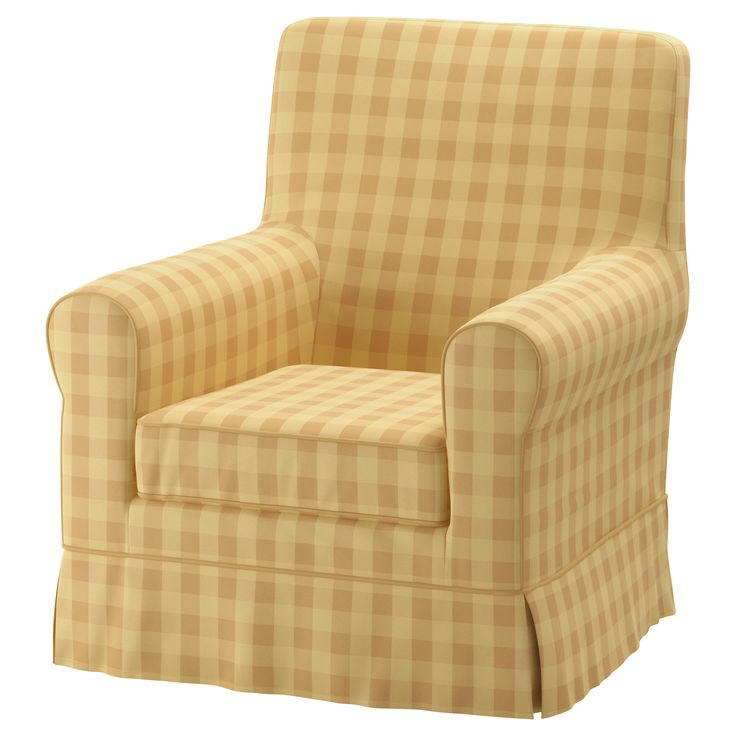 IKEA - JENNYLUND Armchair cover Skaftarp yellow