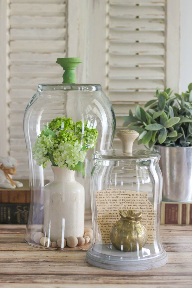 Create A Diy Glass Display Cloche With Knob Inexpensive Home Decorinterior